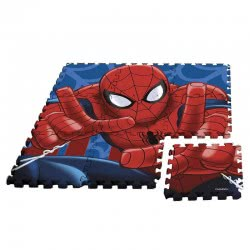 HOLLYTOON Spiderman Floor Puzzle 9 Pieces