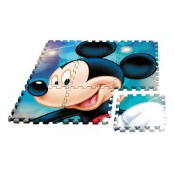 HOLLYTOON Mickey Mouse Floor Puzzle 9 Pieces