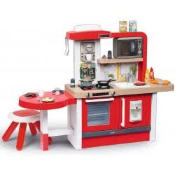Smoby Tefal Evolutive Kitchen Gourmet Παιδική Κουζίνα - Κόκκινη 312302 3032163123026