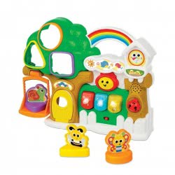 WinFun Lights N Sounds Sorter Treehouse 403237 5204275032376