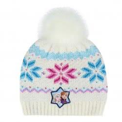 Cerda Σκούφος Pompon Frozen 2 - Λευκός 2200004284 8427934290123
