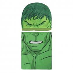 Cerda Σετ Σκούφος Κασκόλ Marvel Avengers Incredible Hulk - Πράσινο 2200003295 8427934201044