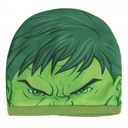 Cerda Marvel Avengers Incredible Hulk Winter Hat And Chimney Scarf Set - Green 2200003295 8427934201044
