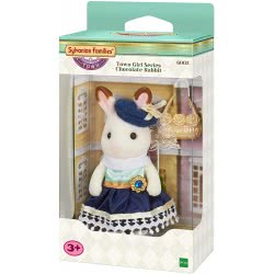 Epoch Sylvanian Families Town Girl - Chocolate Rabbit 6002 5054131060025