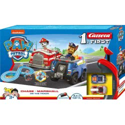 CARRERA Slot 1.First Paw Patrol - Chase And Marshall On The Track  20063033 4007486630338