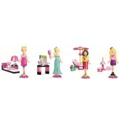 MEGA BLOKS Barbie & Friends ASST 851-80200 065541802001