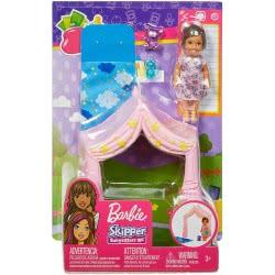 Mattel Barbie Skipper Babysitter Αξεσουάρ – Κορίτσι Με Τέντα Και Υπνόσακο FXG94 / FXG97 887961691153