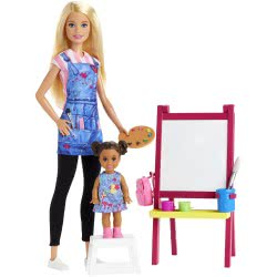 Mattel Barbie Art Teacher Playset DHB63 / GJM29 887961813876