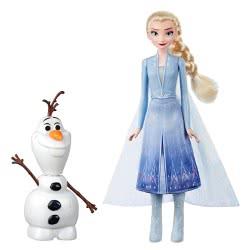 Hasbro Disney Frozen II Olaf And Elsa E5508 5010993612376