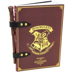 Blue Sky Studios Harry Potter Notebook And Wand Pencil Set SLHP032 5060502918031