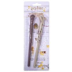 Blue Sky Studios Harry Potter Voldemort And Harry Wand Pen And Pencil Set SLHP373 5060502919694