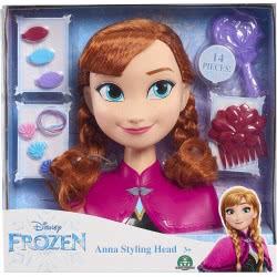 GIOCHI PREZIOSI Disney Frozen II Anna Styling Head DND16000 / FRN41001 8056379017356