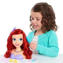 GIOCHI PREZIOSI Disney Princess Άριελ Κεφάλι Ομορφιάς DND12000 8056379080237