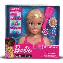 GIOCHI PREZIOSI Barbie Fashionistas Styling Head BAR28000 8056379045410