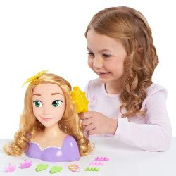 GIOCHI PREZIOSI Disney Princess Ραπουνζέλ Κεφάλι Ομορφιάς DND17000 / DNR00002 8056379018803
