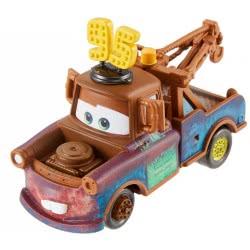 Mattel Disney / Pixar Cars Die-Cast Mater Με N. 95 Καπέλο DXV29 / FLL68 887961561432