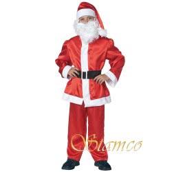 Stamco Χριστουγεννιάτικη Στολή Άγιος Βασίλης Παιδική (Χωρίς Μούσι) 214512 5206322002806