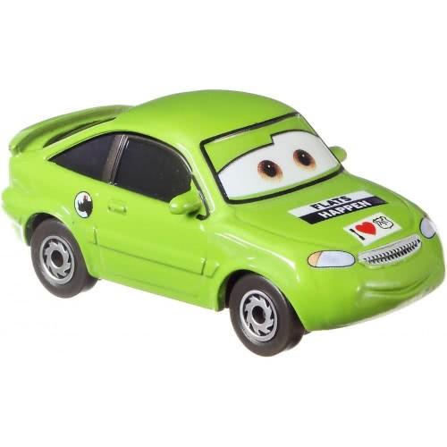 Mattel Disney Pixar Cars 3 Vehicle Die Cast Nick Stickers Dxv29