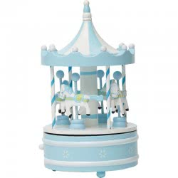 OEM Merry Go-Round Καρουζέλ Μεγάλο Με Αλογάκια - Σιέλ 641287 6033950641287