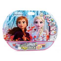 As company Giga Block Σετ Ζωγραφικής 5 Σε 1 Disney Frozen II 1023-62722 5203068627225