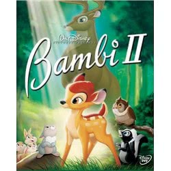 feelgood Disney Disney DVD BAMBI 2 0003732 5205969015293