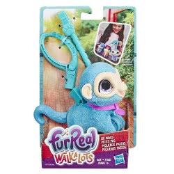 Hasbro Furreal Walkalots Lil Wags Monkey - Blue E3503 / E4777 5010993601585