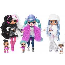 GIOCHI PREZIOSI L.O.L. Surprise O.M.G. Winter Disco Doll And Sister - 3 Designs LLU96000 8056379083085
