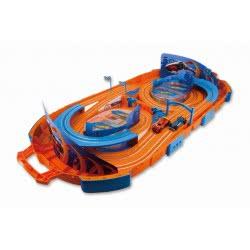 Just toys Hot Wheels Track Set Βαλιτσάκι Αυτοκινητόδρομος - Πίστα 2.80M Με Αντάπτορα 83122 4894380831226