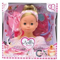 Just toys Molly Μπαλαρίνα Κεφάλι Ομορφιάς Με Αξεσουάρ Και Παπούτσια Μπαλέτου BD1366 4895167983527