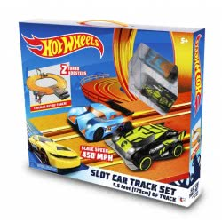 Just toys Hot Wheels Slot Cars Track Race 1.7 Meters With Two Cars 83115 4894380831158
