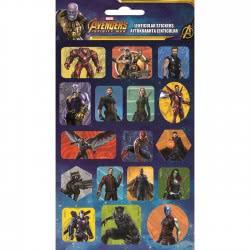 GIM Avengers Lenticular Stickers Αυτοκόλλητα  777-53915 5204549115187