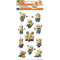 GIM Minions Foam Stickers 774-54438 5204549115569