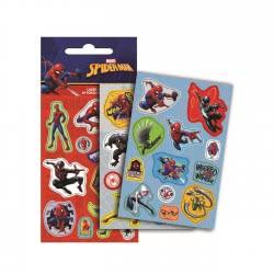 GIM Spiderman Laser Stickers Αυτοκόλλητα Σπάιντερμαν 777-51410 5204549115781