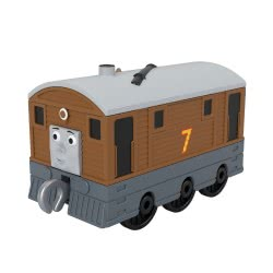 Fisher-Price Thomas And Friends Trackmaster Τόμας Τρενάκια - Toby GCK93 / GHK63 887961795493