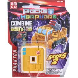 Just toys Pocket Morphers Νούμερα Σειρά 2 - 10 Σχέδια 6899 8886457668992