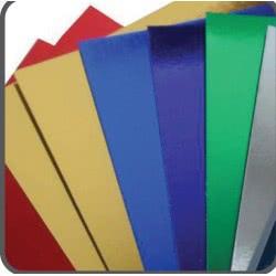 LUNA OFFICE The Littlies Metalic Paper 50X70cm 250Gsm - Silver 000430091 5205698465659