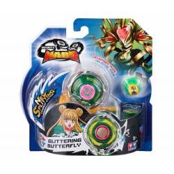 Auldey Toys Infinity Nado Standard Metal Series Accessories - Glittering Butterfly 624300 / YW624303 6911400355857