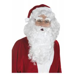 CLOWN Wig Santa Claus With Moustache 71516 5203359715167