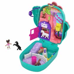 Mattel Polly Pocket World Mini Sets - Cactus Cowgirl Ranch FRY35 / GKJ46 887961828474