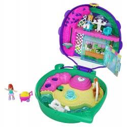 Mattel Polly Pocket Ο Κόσμος Της Polly Σετάκια - Lil Ladybug Garden FRY35 / GKJ48 887961828467