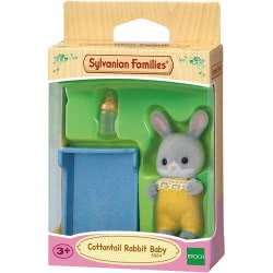 Epoch Sylvanian Families Cottontail Rabbit Baby Doll 5064 5054131050644