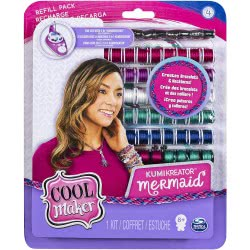 Spin Master Cool Maker – Kumi Fashion Pack, Makes Up To 12 Bracelets With The Kumikreator 6038304 778988687444