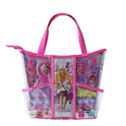 Markwins International Barbie Express Youtself Beauty Tote Τσάντα Ομορφιάς 9803510 4038033980354