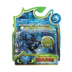 Spin Master How To Train Your Dragon Mini Dragon Glow In The Dard - 3 Designs 6045465 778988167922