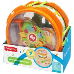 Fisher-Price Musical Band Drumset KFP2136 731398921362