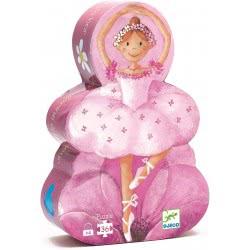 Djeco Puzzle – Ballerina Silhouette 07227 3070900072275