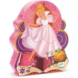 Djeco Cinderella Storytime Puzzle 07232 3070900072329