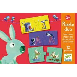 Djeco Puzzle Duo - Opposites 08162 3070900081628