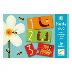 Djeco Puzzle Duo Numbers 08151 3070900081512
