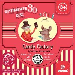 Svoora 3D Movies Viewer - 3D Optiviewer Reel Candy Factory 03009 5208006030099